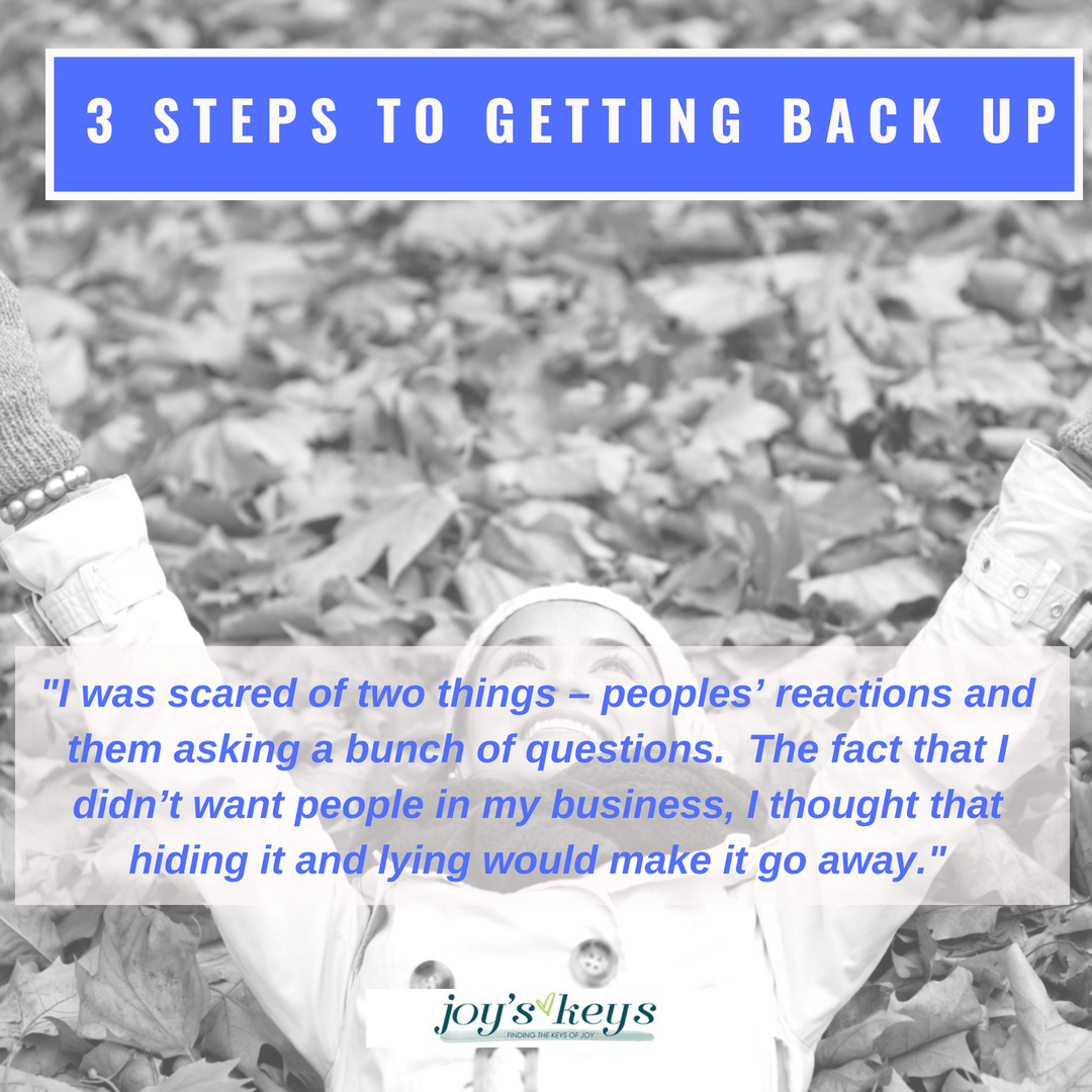 How to Get Back Up!